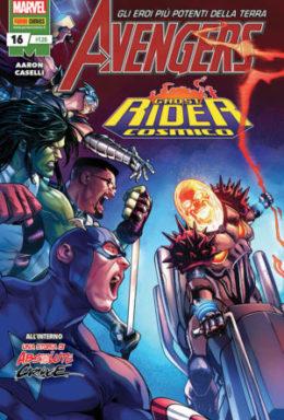 Copertina di Avengers n.120 – Avengers 16