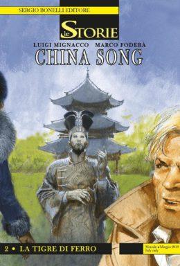 Copertina di Le storie 80 – China Song 2 – La Tigre di Ferro