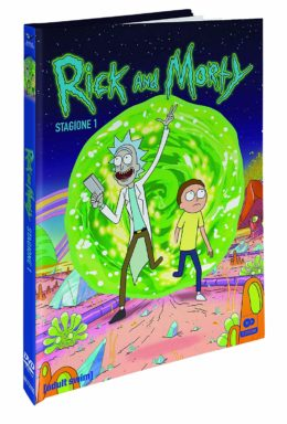 Copertina di Rick And Morty: Stagione 01 (Mediabook CE) (2 Dvd)