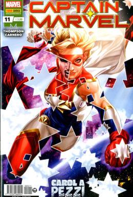 Copertina di Captain Marvel n.11