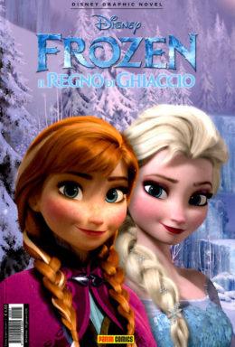 Copertina di Disney Graphic Novel n.2 – Frozen Il Segreto di Ghiaccio