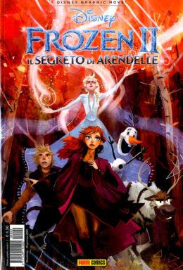 Copertina di Disney Graphic Novel n.1 – Frozen Il Segreto di Arandelle