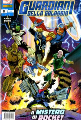 Copertina di Guardiani della Galassia n.8