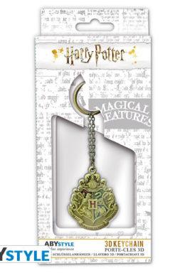Copertina di Hp Hogwart's Crest Keychain