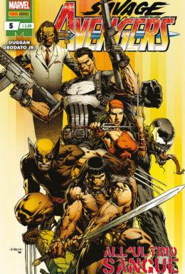 Copertina di Savage Avengers n.5