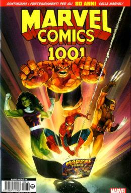 Copertina di Marvel Comics 1001