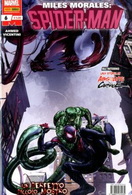 Copertina di Miles Morales: Spider-Man n.6
