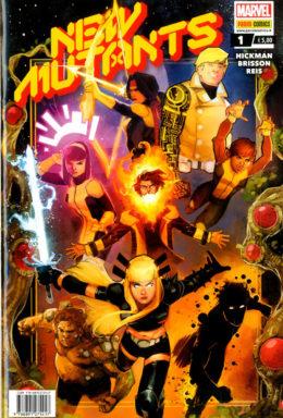 Copertina di New Mutants n.1