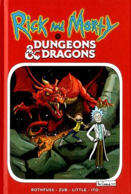 Copertina di Rick And Morty Vs Dungeon & Dagons n.1