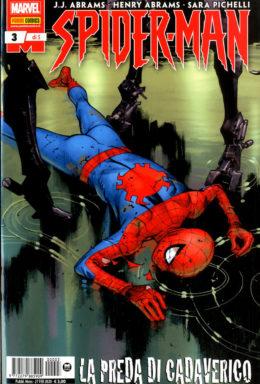 Copertina di Spider-Man di J.J. Abrams n.3