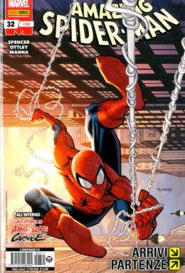 Copertina di Spider-Man n.741 – Spider-Man 32