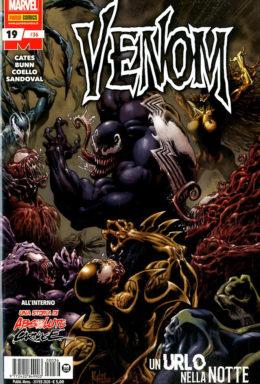 Copertina di Venom n.36 – Venom 19
