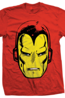 Marvel: Iron Man Big Head Rosso (T-Shirt Unisex Tg. S)