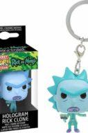 Rick & Morty – Hologram Rick – Pocket Pop Keychain