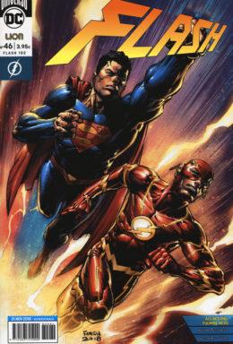 Copertina di Flash n.46 – Rinascita – Serie Regolare 102