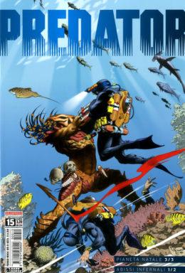 Copertina di Predator n.15