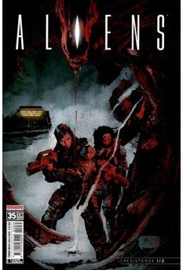 Copertina di Aliens n.35