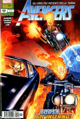 Copertina di Avengers n.121