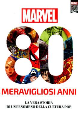 Copertina di Marvel 80 Amazing Years