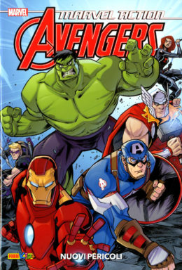 Copertina di Marvel Action Avengers n.1