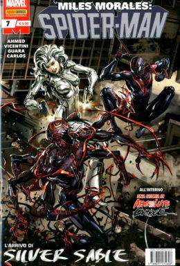 Copertina di Miles Morales: Spider Man n.7