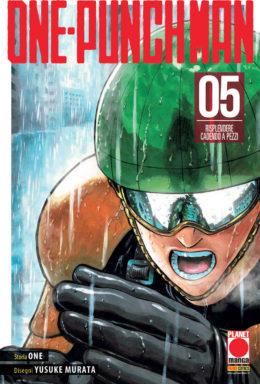 Copertina di One-Punch Man n.5