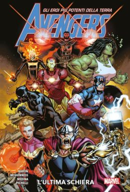Copertina di Marvel Collection – Avengers Fresh Start 1 – L'Ultima Schiera