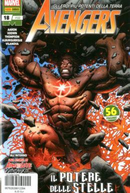 Copertina di Avengers n.122