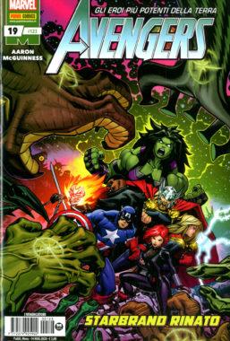 Copertina di Avengers n.123 Avengers 19