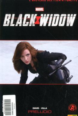 Copertina di Marvel Cinematic – Black Widow Prelude