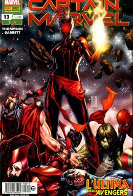 Copertina di Captain Marvel n.13