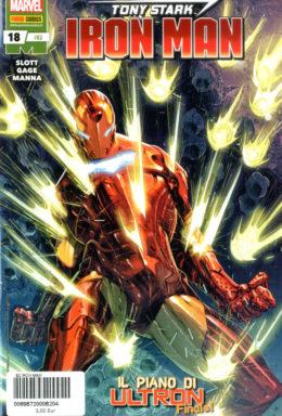 Copertina di Iron Man n.82 – Tony Stark Iron Man 18