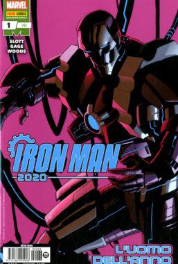 Copertina di Iron Man n.83 – Iron Man 2020 n.1