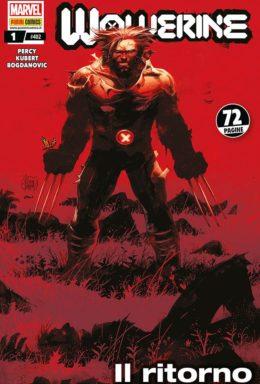 Copertina di Wolverine n.402 – Wolverine 1