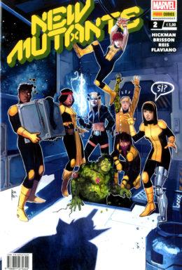 Copertina di New Mutants n.2
