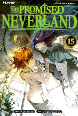 Copertina di The Promised Neverland n.15