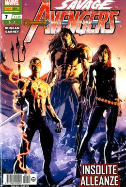 Copertina di Savage Avengers n.7