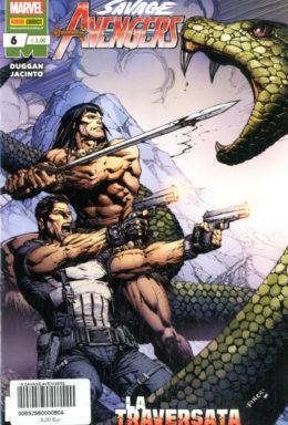 Copertina di Savage Avengers n.6