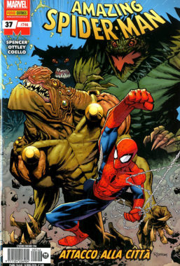 Copertina di Spider-Man n.746 – Spider-Man 37