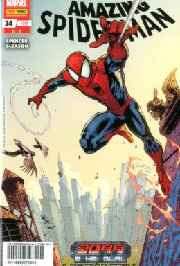 Copertina di Spider-Man n.743 – Amazing Spider-Man 34