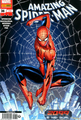 Copertina di Spider-Man n.745 – Amazing Spider-Man 36