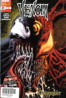 Copertina di Venom n.38 – Venom 21