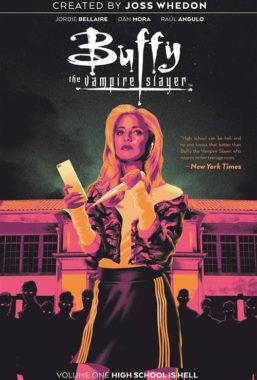 Copertina di Buffy L'ammazzavampiri vol.1 – Scuola è un Inferno
