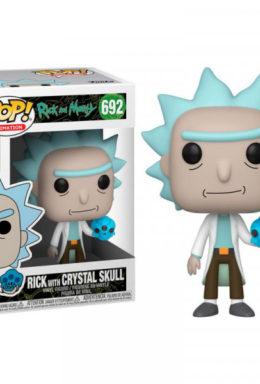 Copertina di Rick & Morty Rick W/Crystal Skull Funko Pop 692