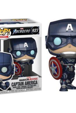 Copertina di Avengers Captain America Stark Funko Pop 627