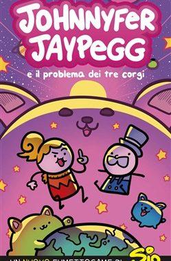 Copertina di Johnnyfer Jaypegg e il mistero dei tre corgi