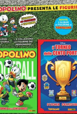 Copertina di Supertopolino n.3368 + Album Torneo