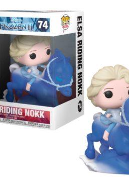 Copertina di Frozen 2 Elsa Riding Nokk Funko Pop 74