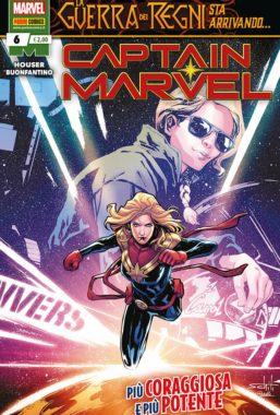 Copertina di Captain Marvel 6