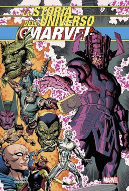 Copertina di La Storia Dell'Universo Marvel